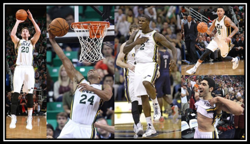 Pelicans at Jazz 11-13-2013
